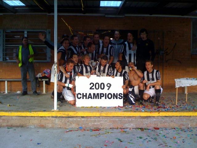 BRFC 2009 LEAGUE CHAMPIONS
