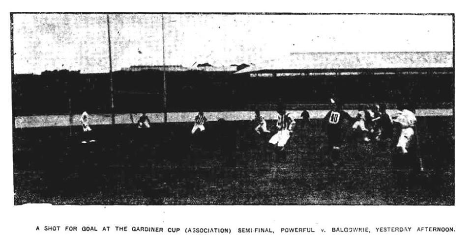 BRFC vs Powerful 1911